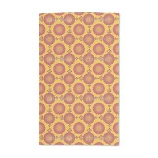 Marigold Floral Hand Towel (Set of 2)