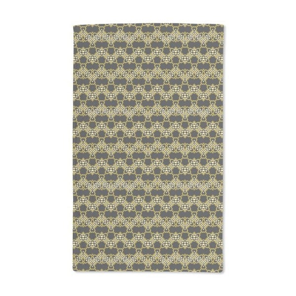 Animal Skin Zig Zag Hand Towel (Set of 2)