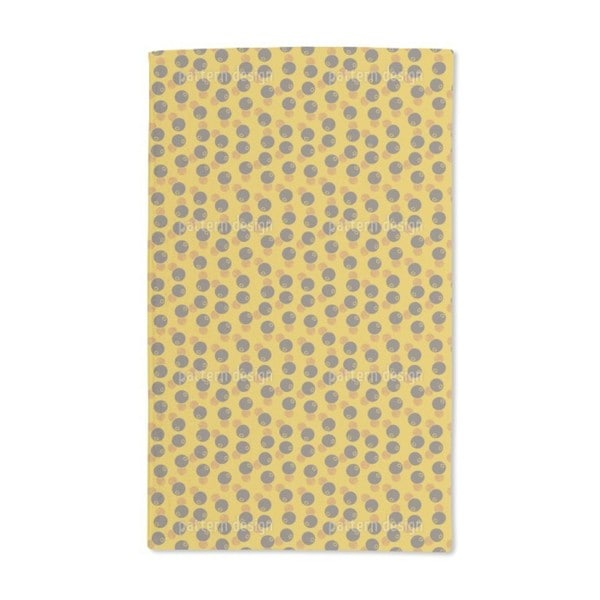 Afro Beans Hand Towel (Set of 2)
