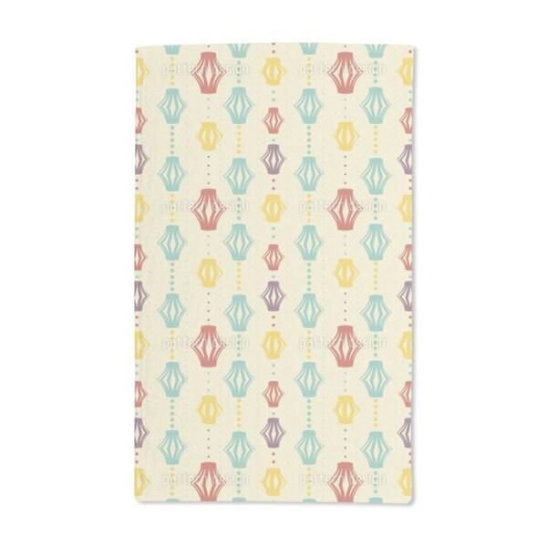 Paper Lanterns Hand Towel (Set of 2)