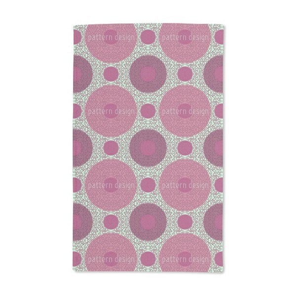 Ornamental Dots Hand Towel (Set of 2)