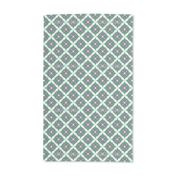 Moorish Grid Hand Towel (Set of 2)