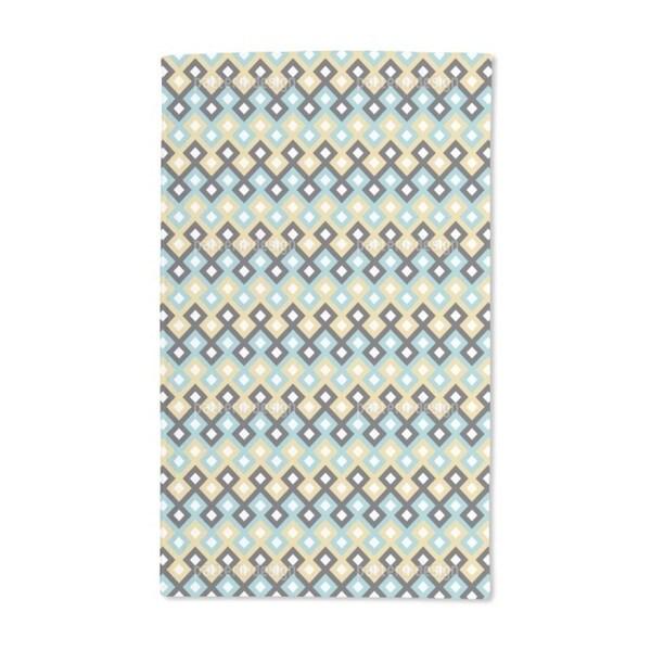 Arabic Geometry Hand Towel (Set of 2)