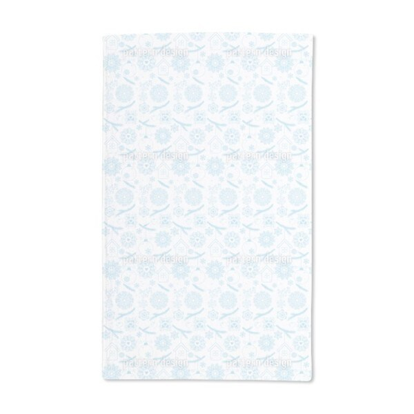 Delicate Christmas Hand Towel (Set of 2)