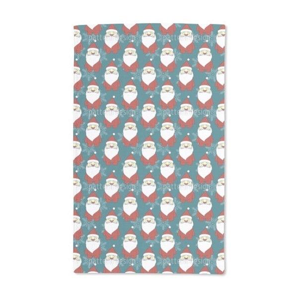 Father Christmas Hand Towel (Set of 2)