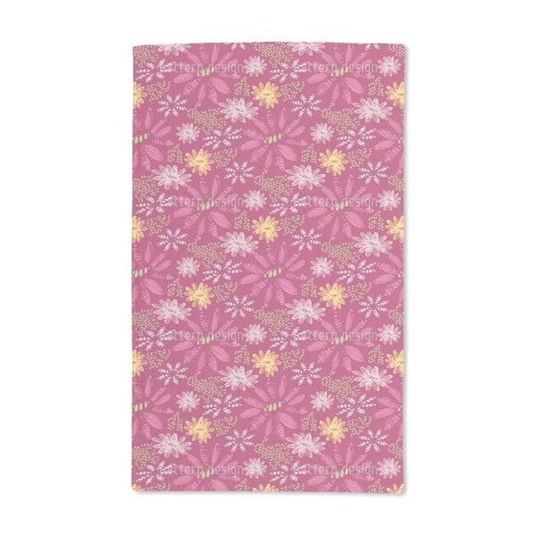 Nula Fuchsia Hand Towel (Set of 2)