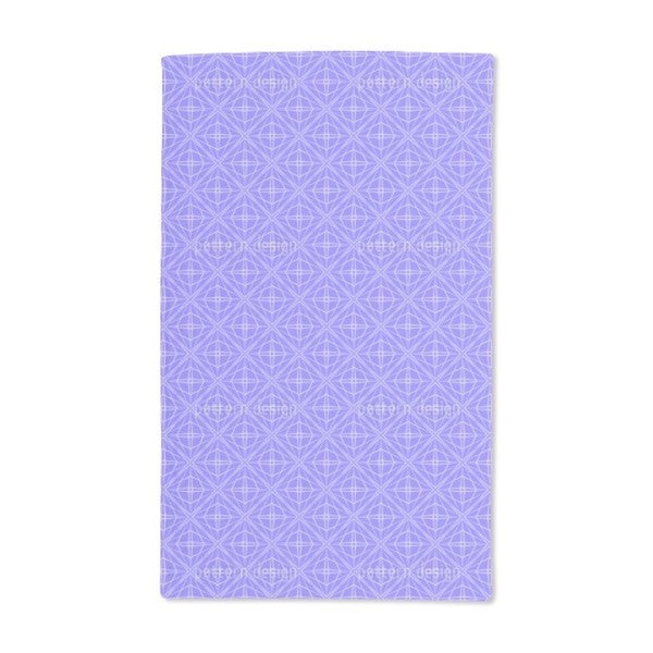 Woven Octagons Hand Towel (Set of 2)