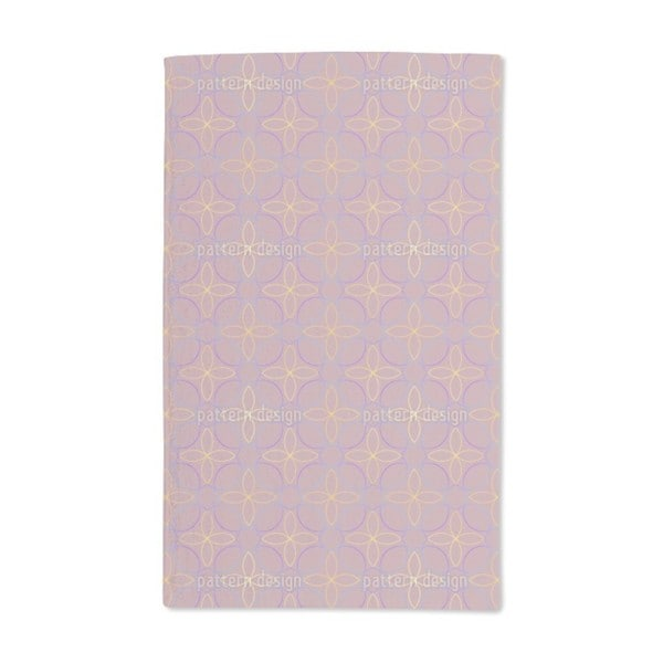 Smooth Flowers Hand Towel (Set of 2)
