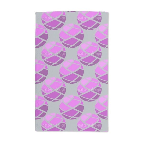 Bandage Balls Hand Towel (Set of 2)