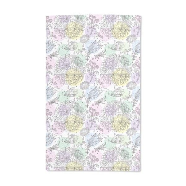 In Dreams I Send Stars and Flowers Hand Towel (Set of 2)