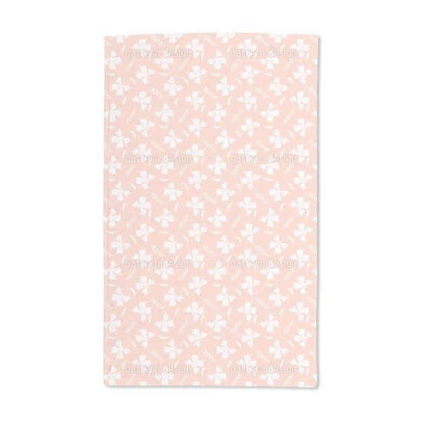 Butterflies and Leaves Hand Towel (Set of 2)