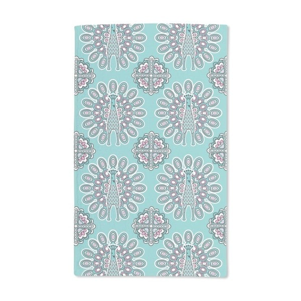 Lucky Peacock Hand Towel (Set of 2)