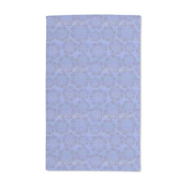 Rustic Flowers Hand Towel (Set of 2)