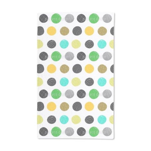 Big Dots Hand Towel (Set of 2)