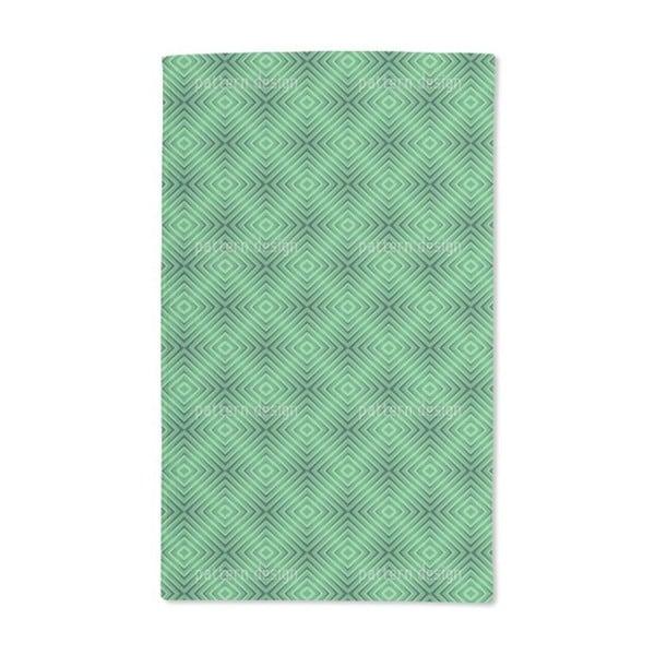 Rhomb Moire Hand Towel (Set of 2)