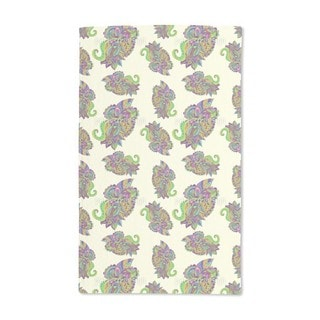 Zentangle Paisley Hand Towel (Set of 2)