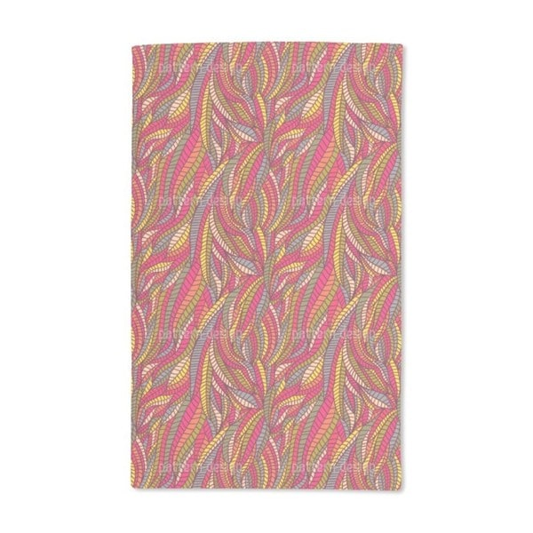 Leaf Expressions Hand Towel (Set of 2)