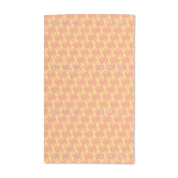 Blow Dry Waves Illusion Hand Towel (Set of 2)