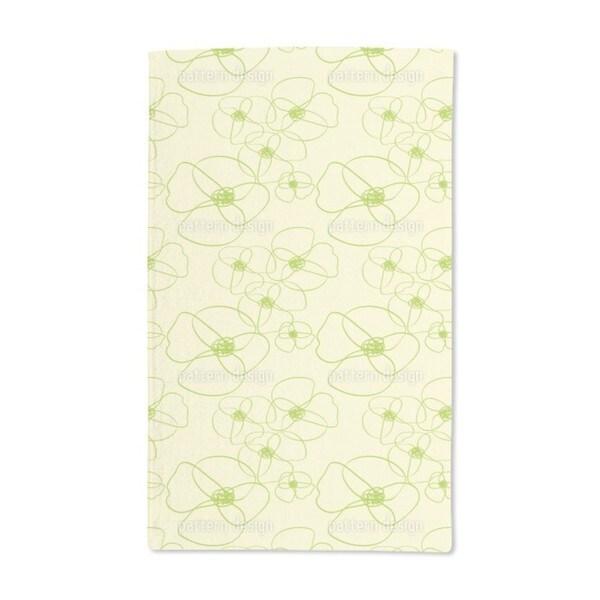 Poppy Scribble Hand Towel (Set of 2)