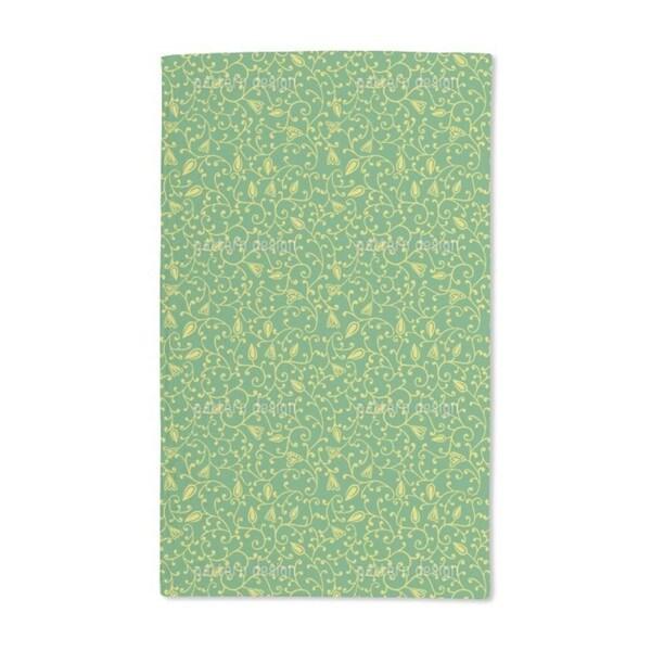 Garden Freshness Hand Towel (Set of 2)