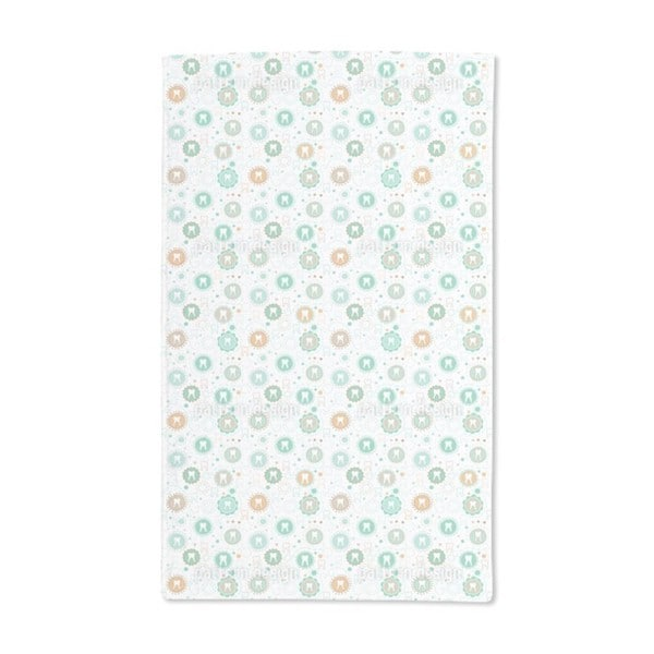 Primary Teeth Collection Hand Towel (Set of 2)