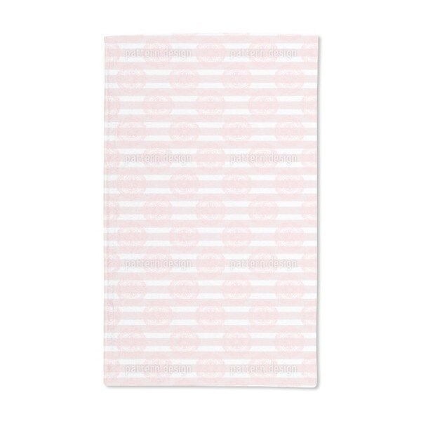 Lace and Stripes Hand Towel (Set of 2)