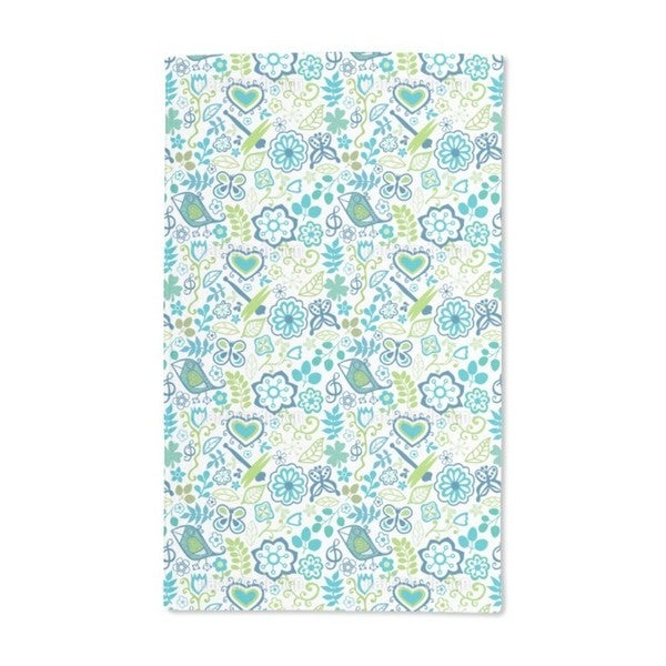 Awakening in Spring Gardens Hand Towel (Set of 2)