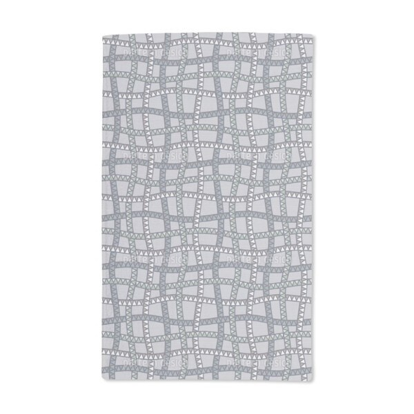 Snake Web at Dawn Hand Towel (Set of 2)