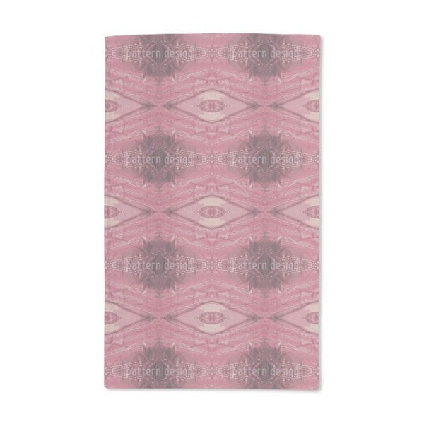 Red Ruby Hand Towel (Set of 2)