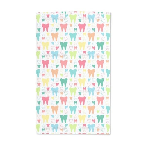 Shiny Teeth Hand Towel (Set of 2)
