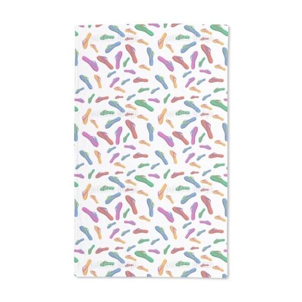 Summer Flip Flops Hand Towel (Set of 2)