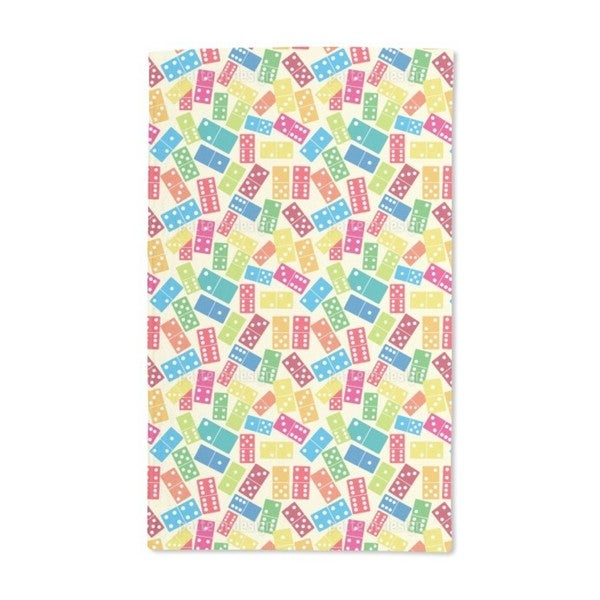 We Play Dominoes Hand Towel (Set of 2)