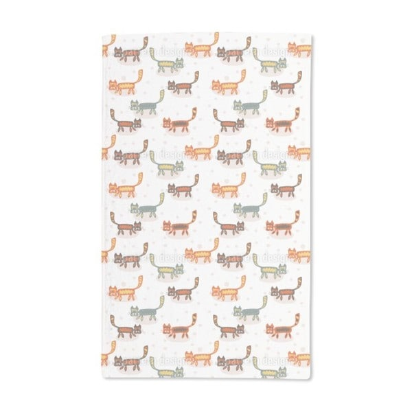 Pussycats Hand Towel (Set of 2)