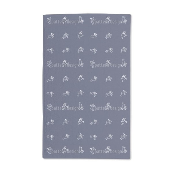 Playful Deer Hand Towel (Set of 2)