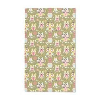 Owls Guard Hand Towel (Set of 2)