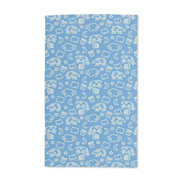 Counting Little Sheep Hand Towel (Set of 2)