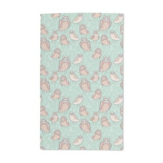 Owls in the Forest Hand Towel (Set of 2)