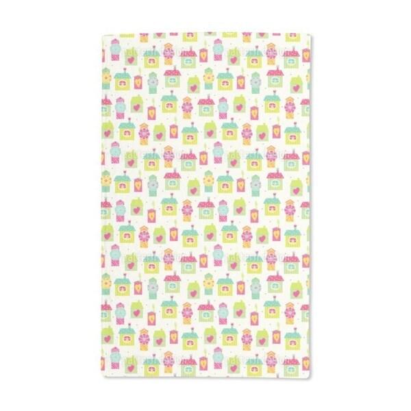 Homes Sweet Homes Hand Towel (Set of 2)