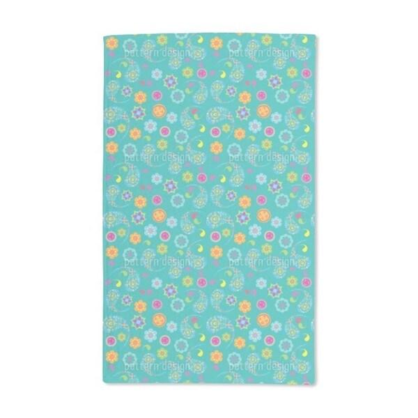 Paisley Bloom Hand Towel (Set of 2)