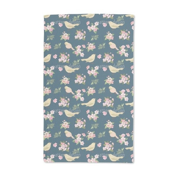 Birds With Blossoms Hand Towel (Set of 2)