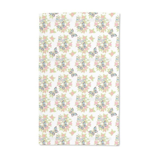 Fresh Floral Bouquets Hand Towel (Set of 2)