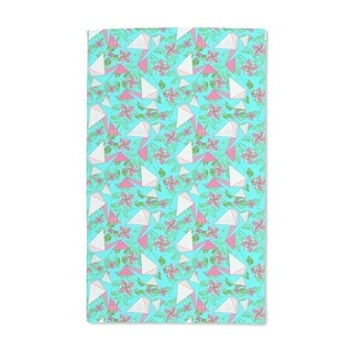 Origami Birds in Paradise Hand Towel (Set of 2)