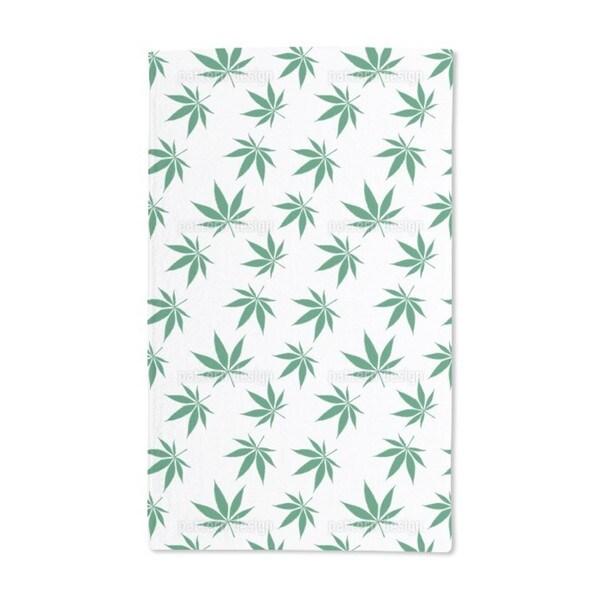 Cannabis Hand Towel (Set of 2)