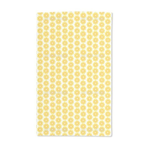 Flowers of the Sun Hand Towel (Set of 2)