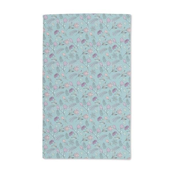 Flower Festival Hand Towel (Set of 2)