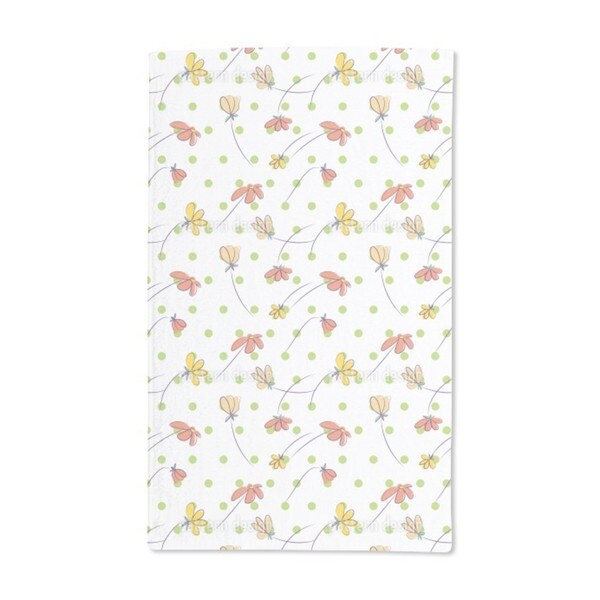 Monday Morning Hand Towel (Set of 2)
