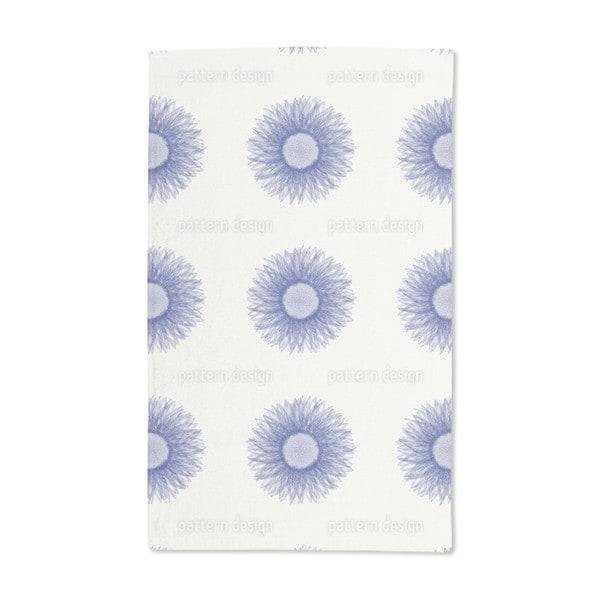 Sunflower Blue Hand Towel (Set of 2)