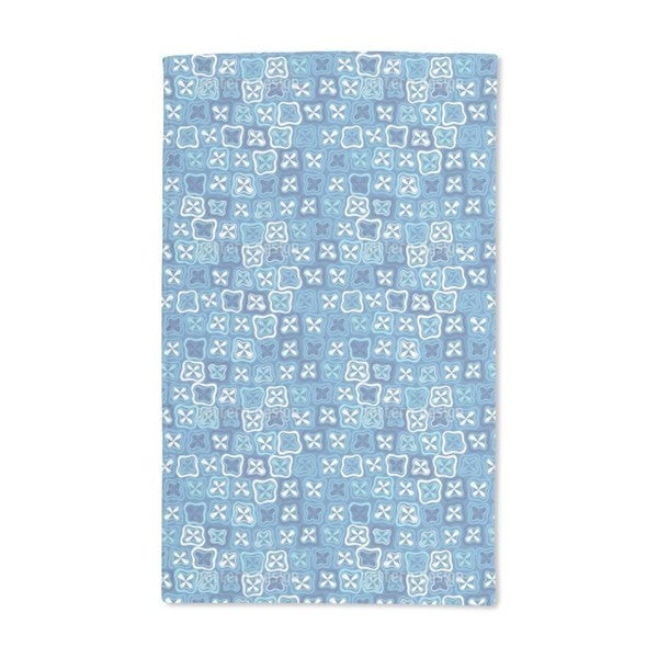 Floral Crossover Mosaic Hand Towel (Set of 2)