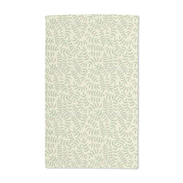 Beauty Leaf Hand Towel (Set of 2)