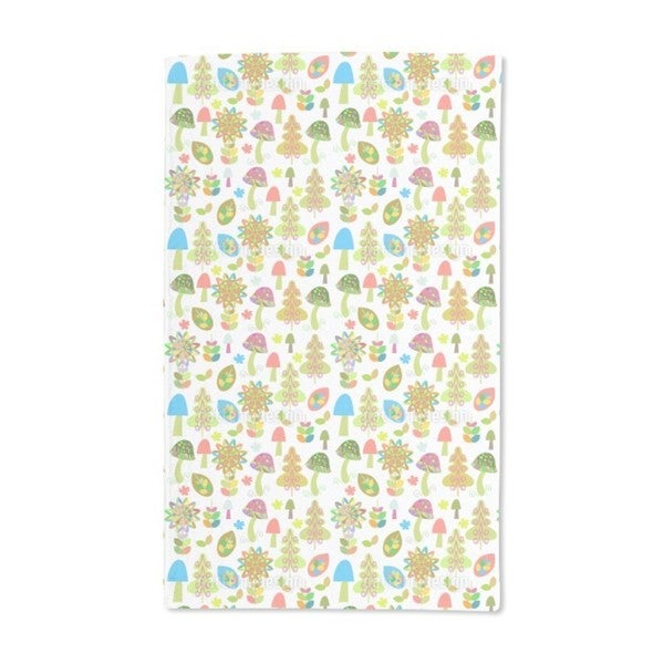 Wild Mushrooms Hand Towel (Set of 2)
